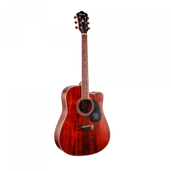 Mantic AG10SC  Solid Top Acoustic Guitar - Natural