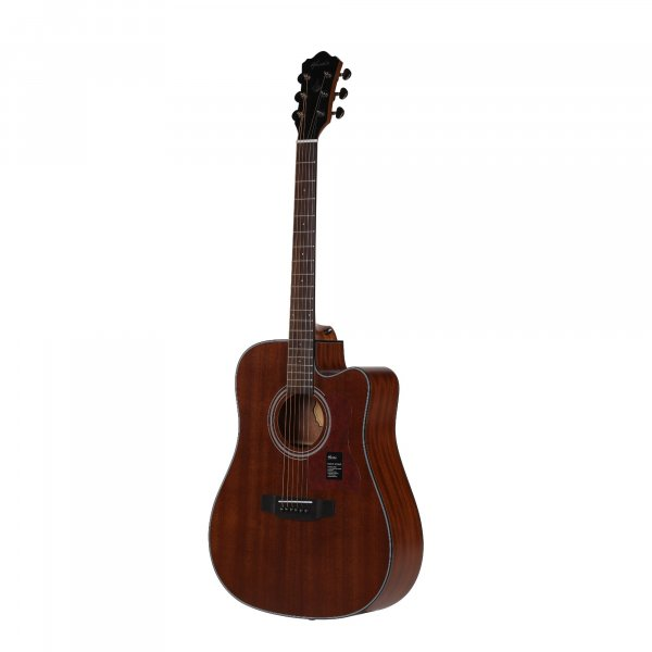 Mantic AG380C  Acoustic Guitar -Sapele finish