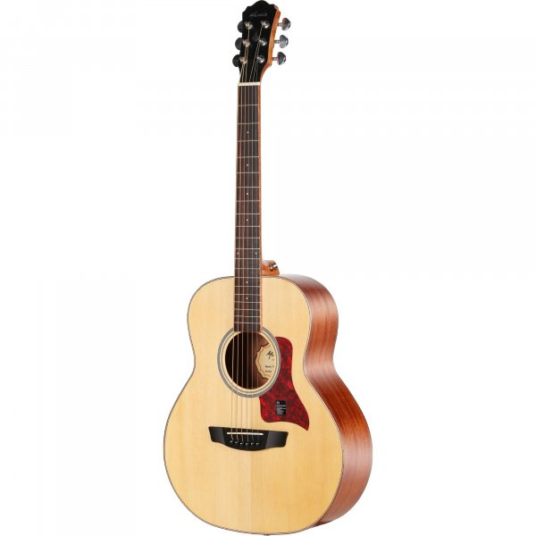 Mantic BG1 Travel Acoustic Guitar - Natural