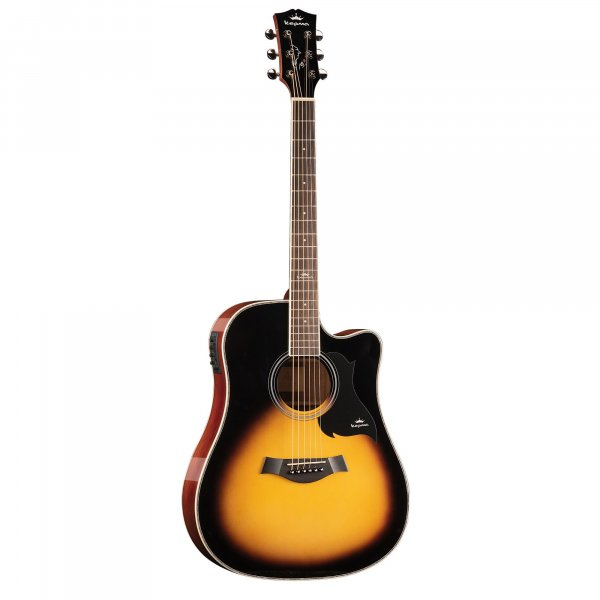 Kepma D1CE - Semi Acoustic Guitar