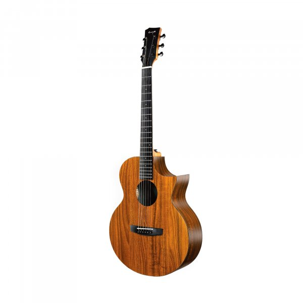 Enya EA-X1C  EQ  Acoustic Guitar- All Koa Finish