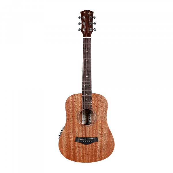Enya EB-01 EQ Mini Travel Guitar- Natural Matt