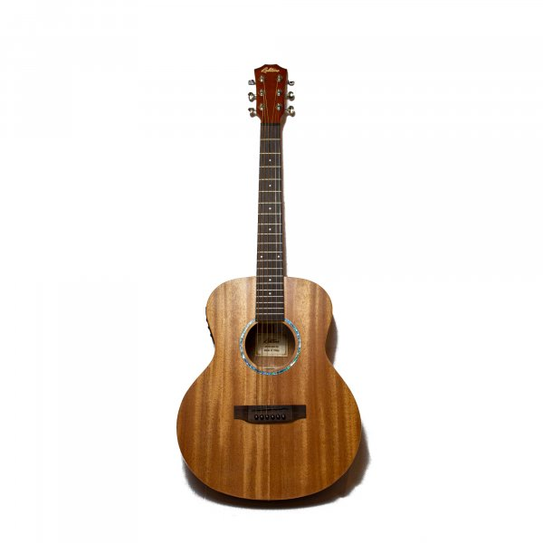 Richtone  RT BG2 EQ NA Travel Acoustic Guitar - All Mahogany