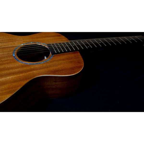 Richtone  RT BG2 NA Travel Acoustic Guitar - All Mahogany