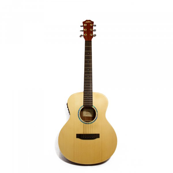 Richtone  RT BG1 EQ Travel Acoustic Guitar - Natural