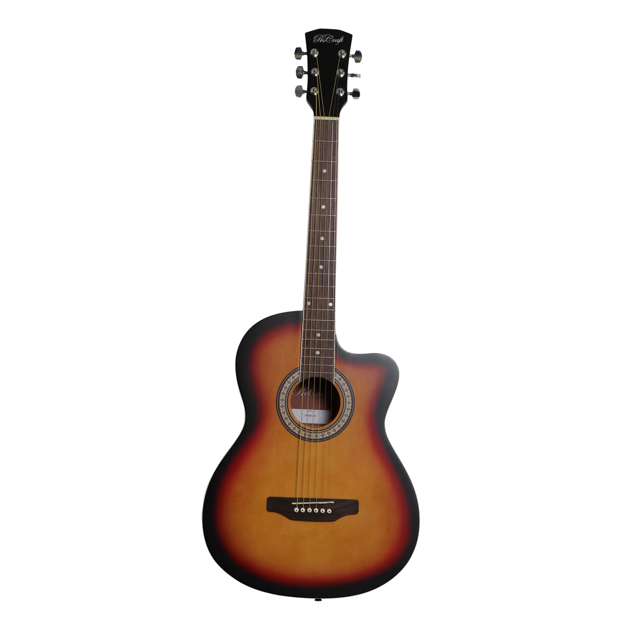 "39"" Procraft Cutaway Acoustic Guitar"