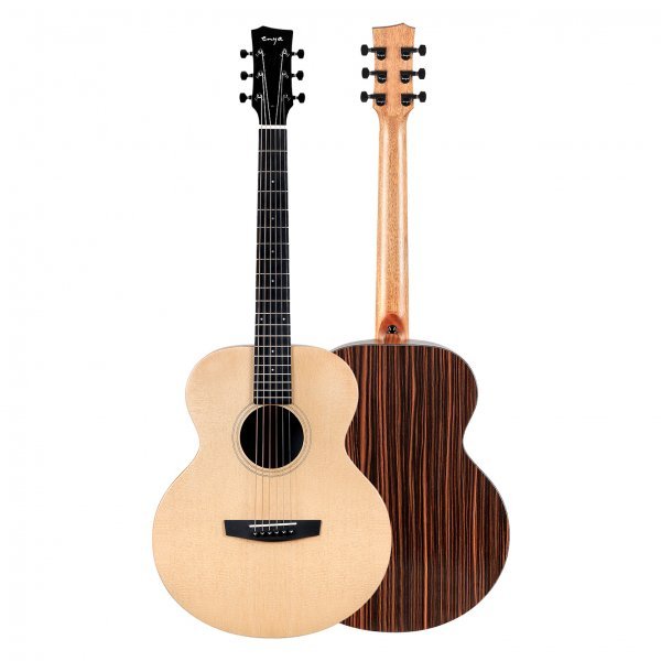 "Enya EM-X1  PRO EQ  ""36""TransAcoustic Guitar- Natural Matt Finish"